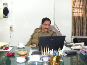 Md Saheb Akhetar,IG of Police Home Guard , Bihar